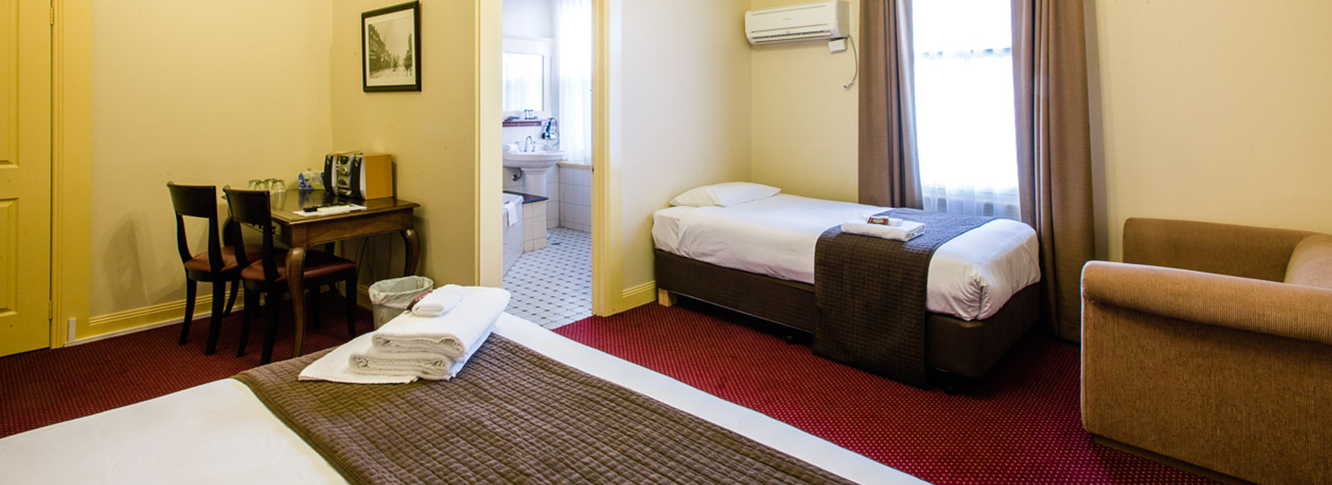 twin accommodation glenferrie hotel hawthorn