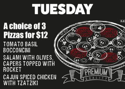 Tuesday Pizza Night