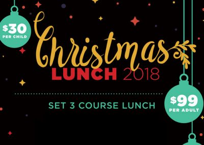 Christmas Lunch at the Glenferrie Hotel