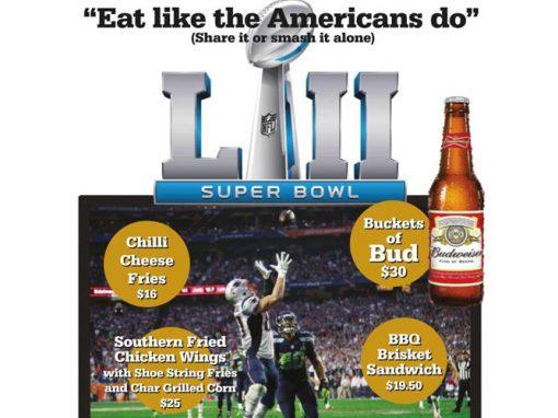 Super Bowl – 5th February