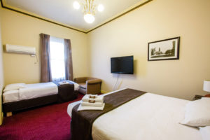 glenferrie hotel twin room