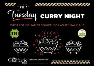Tuesday Curry Night