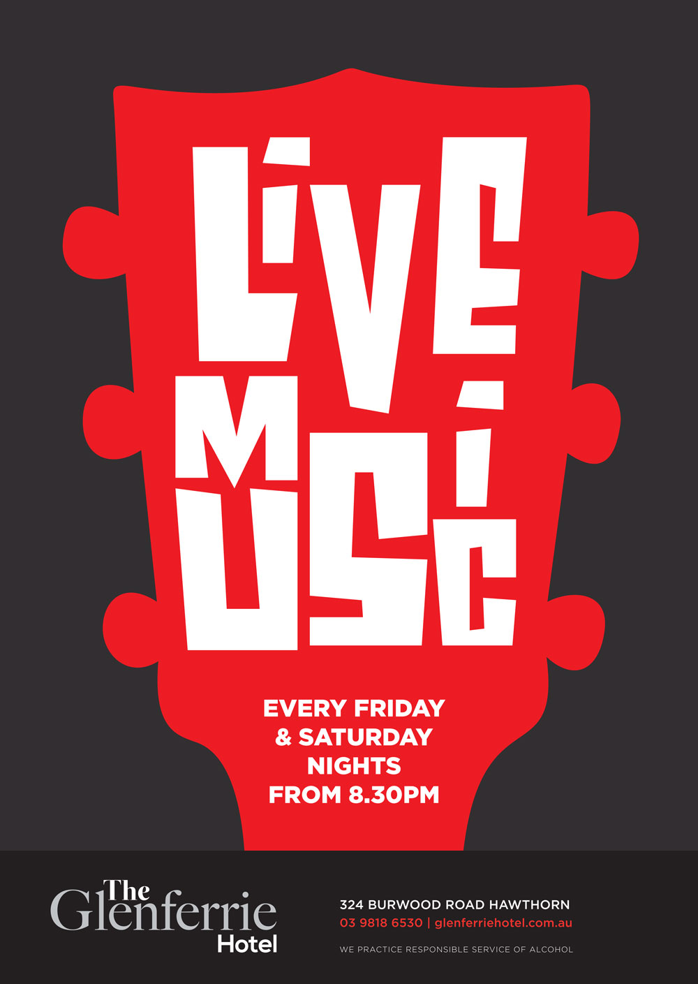 live music at the glenferrie hotel