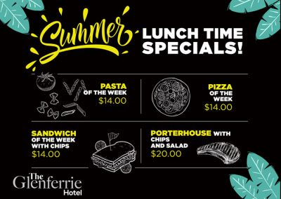 Summer Lunch Time Specials