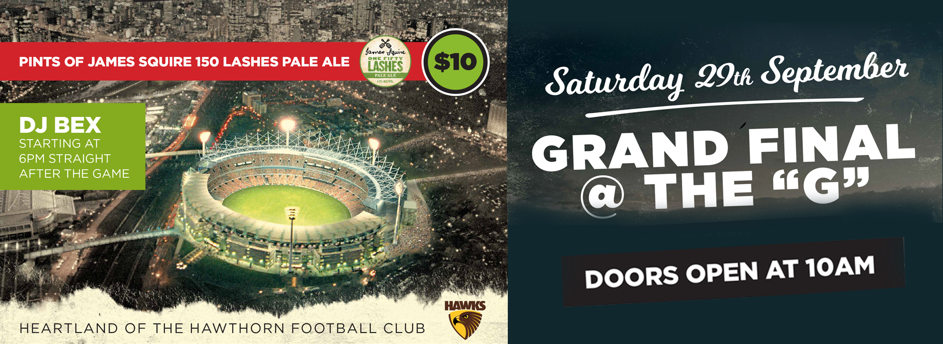 glenferrie hotel grand final day