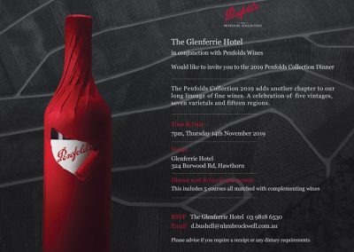 Penfolds Collection Dinner