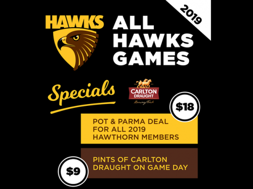 Hawthorn Game Day Specials
