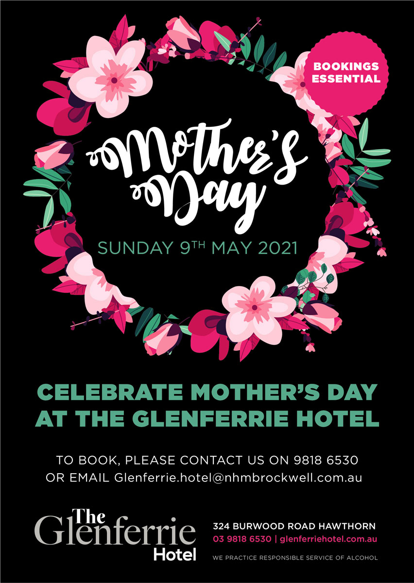 mothers day at glenferrie hotel