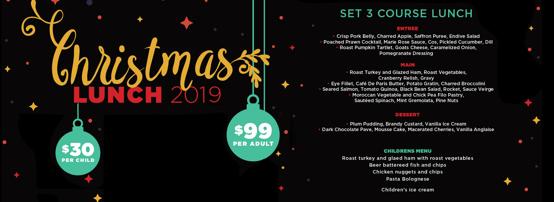 christmas lunch at glenferrie hotel